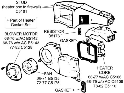 Fan Heater Core Related Diagram View Chicago