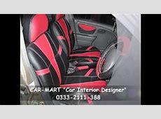 Suzuki ALTO Custom Interior in Red & Black by CARMART
