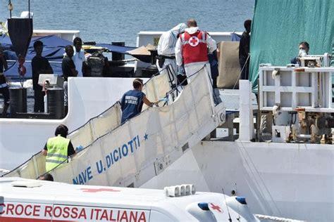 Ufficio Di Sanità Marittima - nave diciotti sanit 224 marittima ordina sbarco immediato di