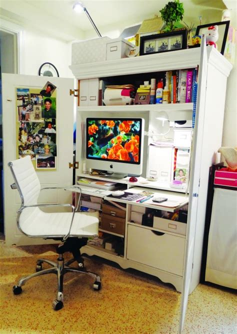 bureau dans armoire desk armoire interior design 12 home offices