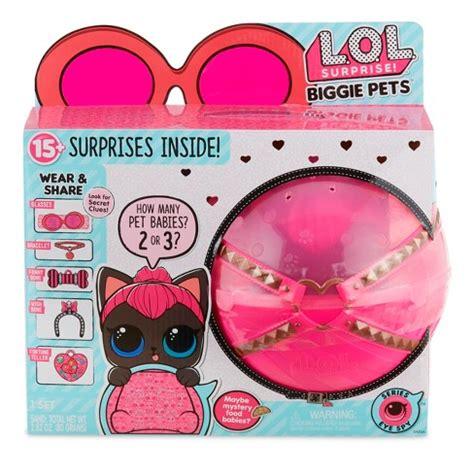 lol surprise biggie pet spicy kitty target