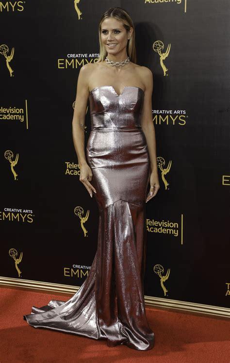 Heidi Klum Creative Arts Emmy Awards Los Angeles