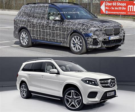 2019 bmw x7 looks massive next to first x3 carscoops