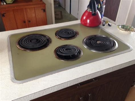 replace vintage double ovenelectric cook top