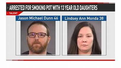 Smoking Woman Marijuana Arrested