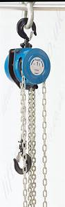 Tractel Tralift Manual Chain Hoists  Top Hook Suspended