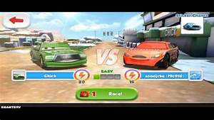 Disney Cars Games Pt 10 New Race Lightning Mcqueen Racing