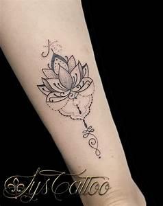 Tatouage Femme Poignet : tatouage avant bras poignet femme fleur de lotus type ~ Melissatoandfro.com Idées de Décoration