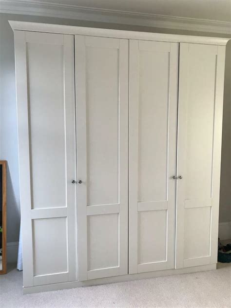 Style Wardrobes by Two Shaker Style Wardrobes From Lewis In