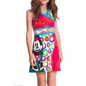 robe fille desigual disney modele uva multicolore achat With robe fille desigual