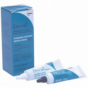 Dycal Calcium Hydroxide Composition - Dentin - Cements    Liners