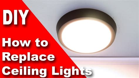 How To Change A Ceiling Light by Replace Ceiling Light Fixture With 30 Modern Led