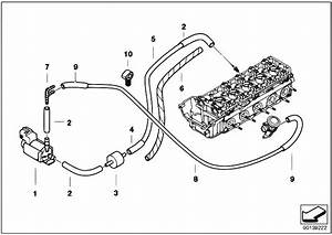 Original Parts For E60 M5 S85 Sedan    Engine   Air Pump F