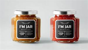 15 jar label templates free psd ai vector eps format for Jam jar label template