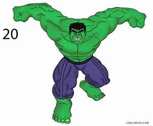How to Draw Hulk (Step by Step Pictures) | Cool2bKids