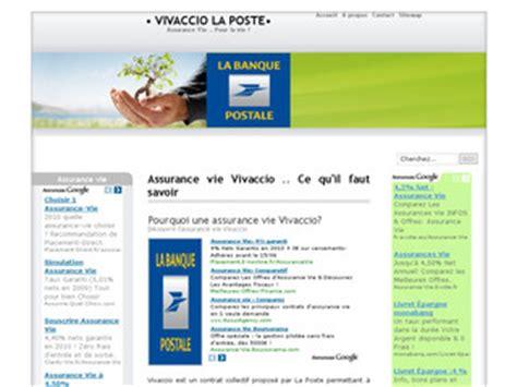 Assurance Vie Vivaccio vivaccio assurance vie de la banque postale vivaccio com