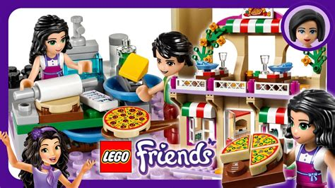 Lego Friends Heartlake Pizzeria Fun Speed Build Review