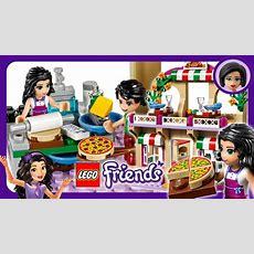 Lego Friends Heartlake Pizzeria Fun Speed Build Review