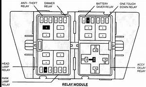Where Is The Power Window Relay And Which One Is It  On A
