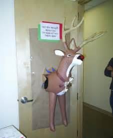 funny christmas door decorating contest ideas for work
