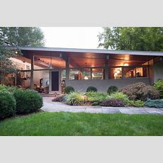 Live In A Classic Midcentury Modern Home On Three Acres