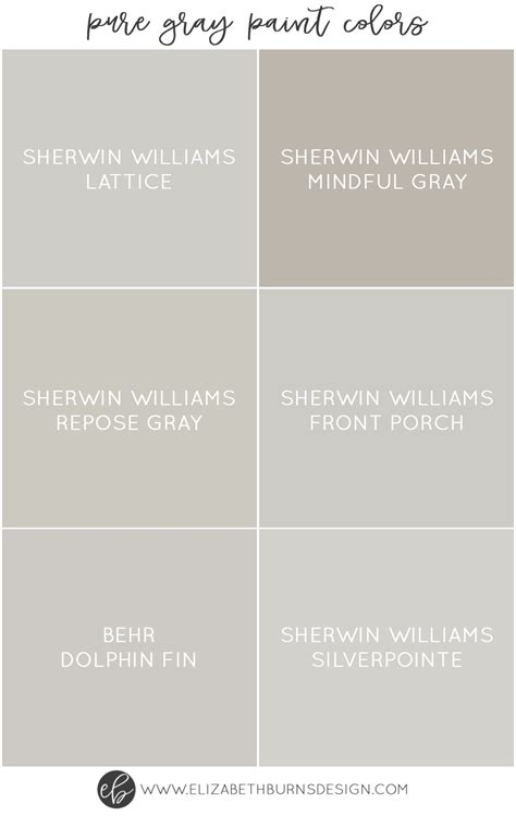 behr gray color chart colorfully behr shades of