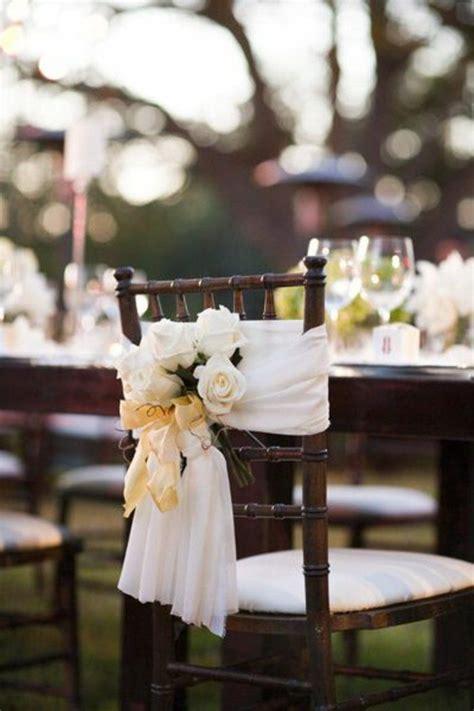 deco chaise mariage les 25 meilleures idées de la catégorie housse de chaise