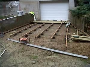 Plot Plastique Terrasse : terrasse bois sur plot pvc nos conseils ~ Edinachiropracticcenter.com Idées de Décoration