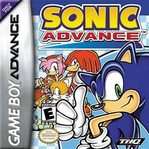 Sonic Advance GBA Buy Or Download ROM And Cheats