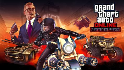 Gta Online Arena War Adds 23 Vehicles, 7 New Modes Today