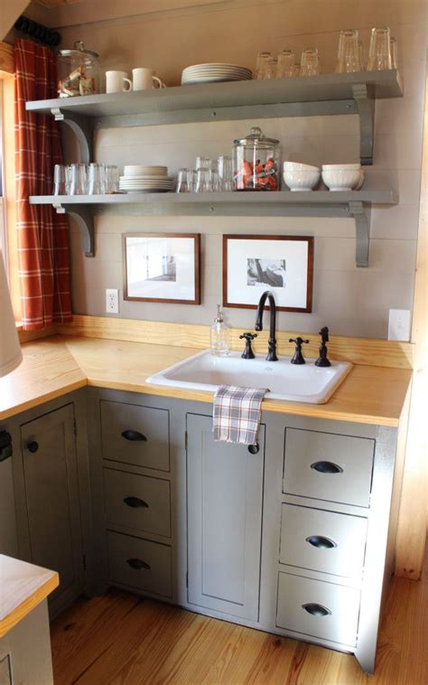 Kitchenette Cabinets by Attic Kitchenette Shelves Our Home Room