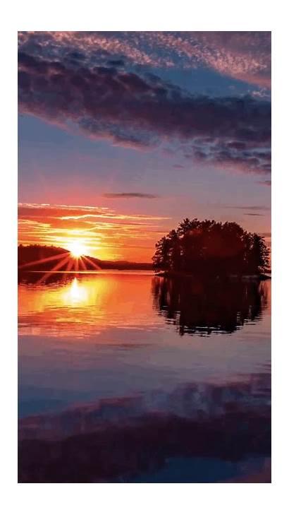 Sunrise Gifs Nature Sunset