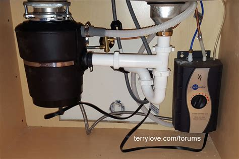 kitchen sink drain setup install garbage disposal in sink terry