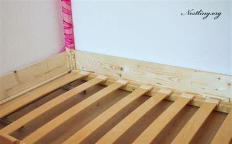 der oder das lattenrost bodenbett f 252 r kinder floor bed selber bauen nestling