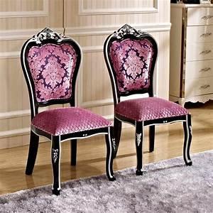 Chaise Baroque Noir : chaise baroque pour cr er un d cor royalement majestueux ~ Teatrodelosmanantiales.com Idées de Décoration