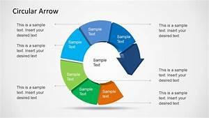 Circular Arrow Template For Powerpoint