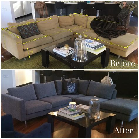 How To Reupholster A Sectional Sofa How To Re Cover A