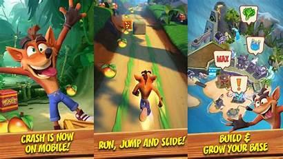 Crash Bandicoot Mobile Play Appears Keengamer