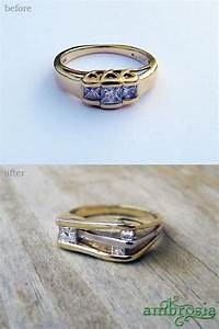 1000 images about redesigned jewelry and restoration of With wedding ring redesign ideas