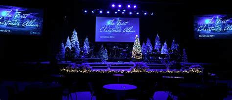 christmas album church stage design ideas
