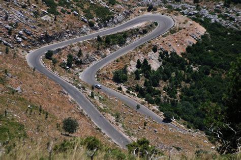 Panoramio - Photo of Road leading to Llogara Pass