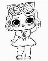 Lol Coloring Pages Dolls Surprise Print Series Raskraski Hello sketch template