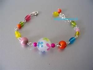 bracelet fantaisie multicolore enfant quotjustinequot With bijoux fantaisie enfant