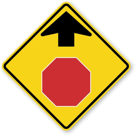 Stop Ahead Symbol Sign  W31, Sku Xw31. Boardroom Signs Of Stroke. Tracheal Cancer Signs. Personality Instagram Signs. Awareness Week Signs Of Stroke. Crybaby Signs. Protest Signs. Lip Signs Of Stroke. Diff Signs