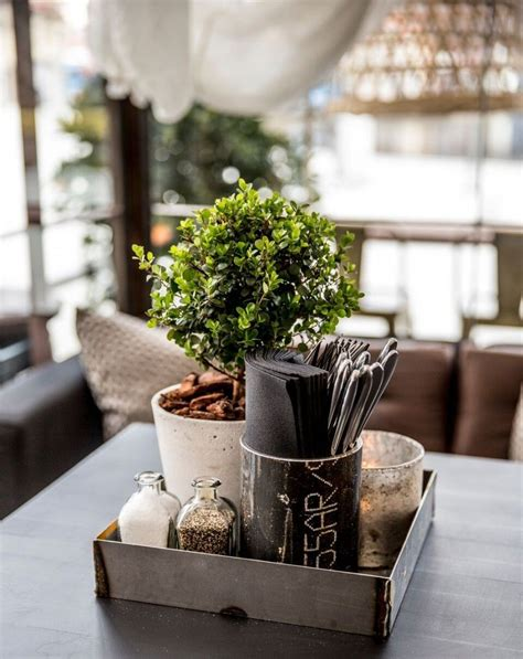 Who says your coffee table decor has to go on top of the table? Bedding Fancy Restaurant Table Centerpieces 1 restaurant table centerpiece ideas   Rustic dining ...