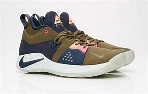 Nike PG 2 Olive Canvas Dropping In A Few Days ...  Nike