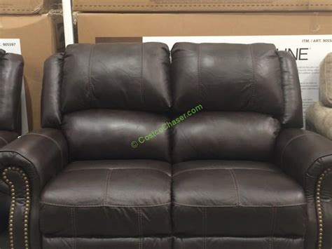 Berkline Leather Reclining Sofa by Recliner Costcochaser