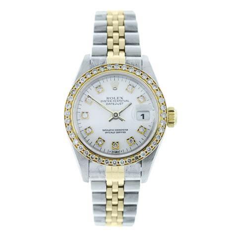 Rolex Datejust 69173 Diamond Dial & Bezel Ladies Watch