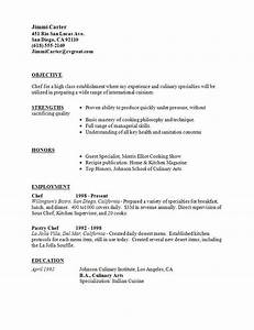 culinary student resume best resume collection With cover letter for culinary student