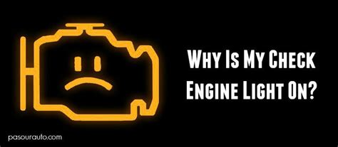 check engine light service why is my check engine light on